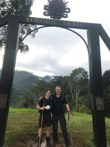 Kokoda Trail 2019 - Mark and Tom